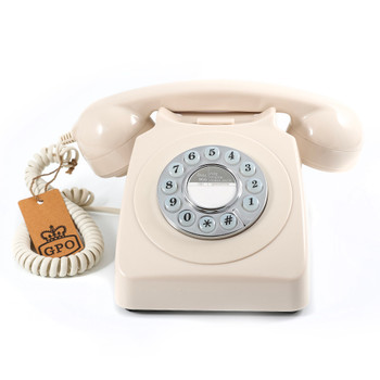 GPO RETRO GPO 746 PUSH BUTTON TELEPHONE - IVORY
