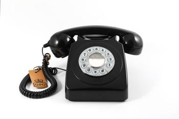 GPO RETRO GPO 746 PUSH BUTTON TELEPHONE - BLACK