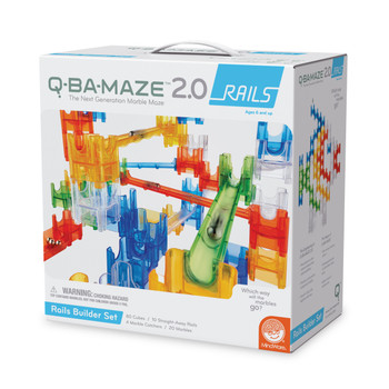 Q-BA-MAZE 2.0 Q-BA-MAZE 2.0:  RAILS BUILDER SET