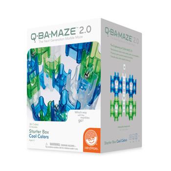 Q-BA-MAZE 2.0 Q-BA-MAZE 2.0:  STARTER BOX - COOL COLOURS