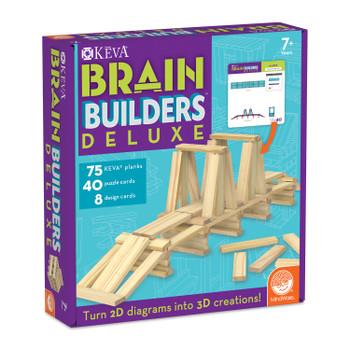KEVA PLANKS KEVA: Brain Builders Deluxe