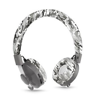 LILGADGET LilGadgets Untangled Pro Childrens Wireless Bluetooth Headphones - Snow Camo