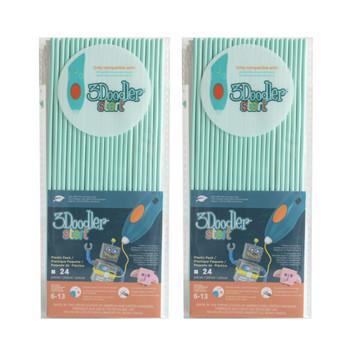 3DOODLER 3Doodler Start Eco-Plastic-Aqua Mint-2pack