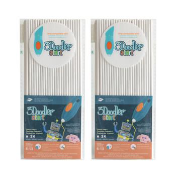3DOODLER 3Doodler Start Eco-Plastic-Simply White-2pack