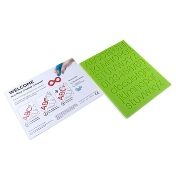 3DOODLER 3Doodler Alphabet Learning Kit