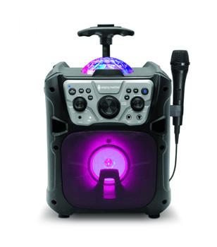 SINGING MACHINE Singing Machine Mini Fiesta- Bluetooth® + Light Show