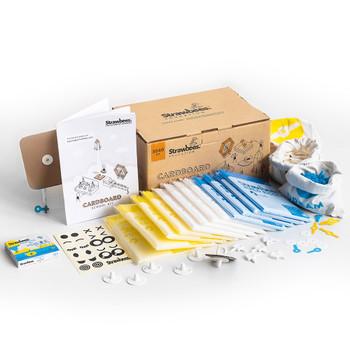 STRAWBEES Strawbees Cardboard School Kit