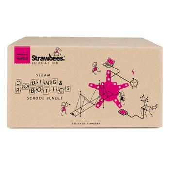 STRAWBEES Strawbees Coding & Robotics School Bundle