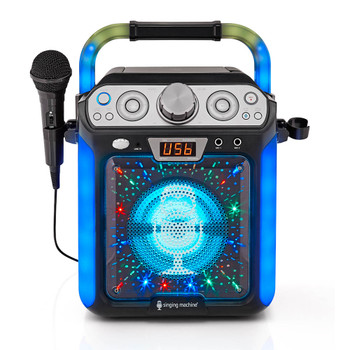 SINGING MACHINE Singing Machine Groove Cube Karaoke System