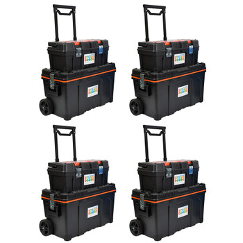 2 x Portable Lockable STEAM Storage With 2 Portable Lockable STEAM Storage Kits