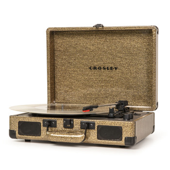 CROSLEY Crosley Cruiser Gold 100th Anniversary - Bluetooth Portable Turntable