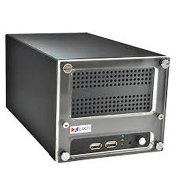 ACTI 4CH ACTI DESKTOP NVR 16 MBPS REMOTE ACCESS BUILT IN DHCP REMOTE ACCESS 2X HDD BAY