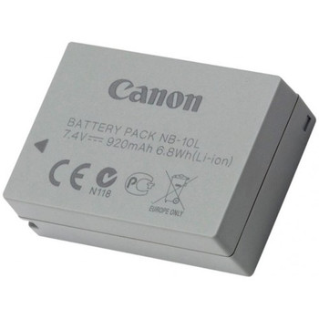 CANON NB10L LITHIUM ION BATTERY FOR SX40HS
