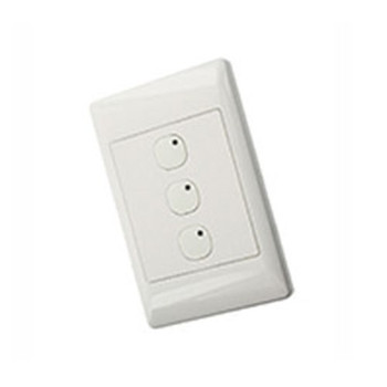 LEVITON SECURITY & AUTOMATION OMNI-BUS 6-BUTTON WALL SWITCH- WHITE