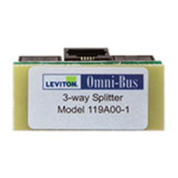 LEVITON SECURITY & AUTOMATION OMNI-BUS SPLITTER BOX 3-WAY
