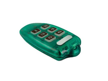 LEVITON SECURITY & AUTOMATION OMNI-BUS 6-CHANNEL KEY RING REMOTE CONTROL