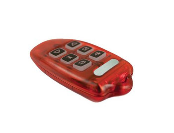 LEVITON SECURITY & AUTOMATION OMNI-BUS 16-CHANNEL KEY RING REMOTE CONTROL