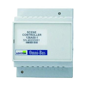 LEVITON SECURITY & AUTOMATION OMNI-BUS SCENE CONTROL DIM RAIL MODULE