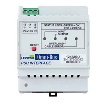 LEVITON SECURITY & AUTOMATION LEVITON PSU INTERFACE MODULE FOR OMNI-BUS BUS LIGHTING SYSTEM DIN RAIL 2AMP