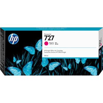 HEWLETT PACKARD HP 727 300ML MAGENTA DESIGNJET INK CARTRIDGE