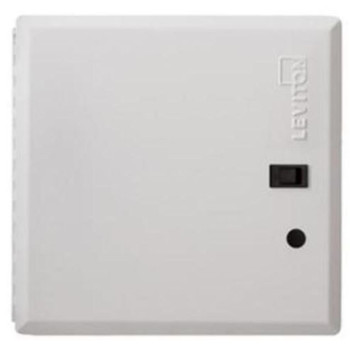 LEVITON SECURITY & AUTOMATION 14 PREMIUM HINGED COVER WITH CLEAR ACRYLIC INSERT