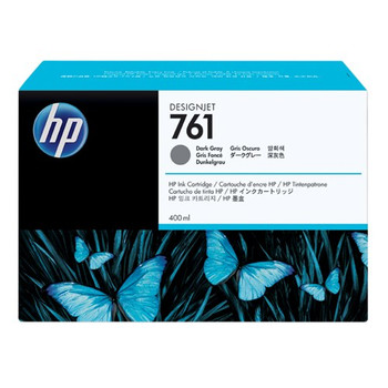 HEWLETT PACKARD HP 761 DARK GREY 400 ML INK CART FOR DESIGNJET T7100