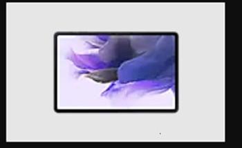 SAMSUNG Galaxy Tab S7 FE Wi-Fi 64GB Mystic Black *AU STOCK* - 12.4' TFT Display, 4GB/64GB Memory, Octa-Core, Android 11, 10,090mAh Battery