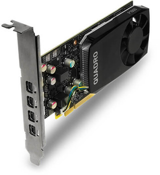 ASUS nVidia Quadro P1000 PCIe Workstation Card 4GB DDR5 4xmDP 4x5120x2880@60Hz 128-Bit 82GB/s 640 Cuda Core Single Slot ( ATX Profile Bracket )