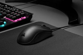 CORSAIR SABRE PRO CHAMPION SERIES Gaming Mice Ultra Lightweight, 18,000 DPI sensor, Axon 8,000 Hz Hyper-Polling, Flexible weave Cable