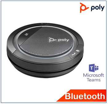 POLYCOM ASIA PACIFIC PTE LTD Calisto 5300-M Bluetooth Speakerphone Usb-A, Teams certified, Rich & clear sound, Easy connect, Portable& personal, Intuitive Control