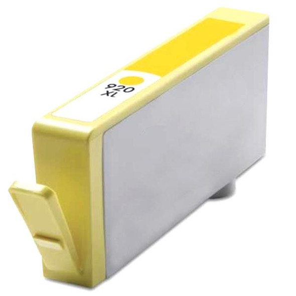 #920XL Yellow  Remanufactured Inkjet Cartridge with new chip