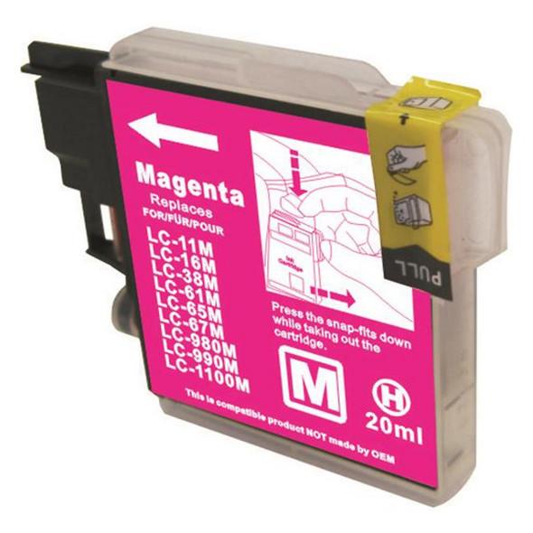 LC38 LC67 Magenta Compatible Inkjet Cartridge