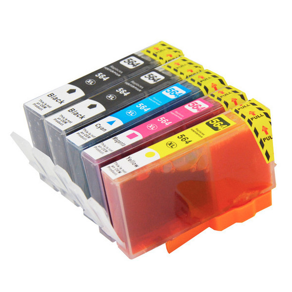 564XL Compatible Inkjet Set 5 Cartridges [Boxed Set]