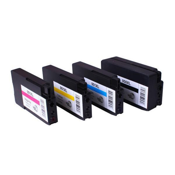 950XL 951XL Premium Compatible Inkjet Cartridge Set  4 Cartridges [Boxed Set]