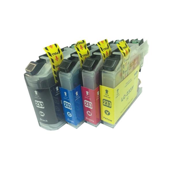 LC-233 Premium Inkjet Cartridge Set (4 Cartridges) [Boxed Set]