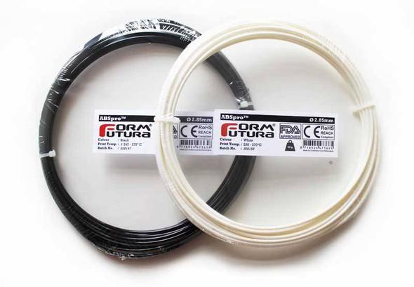 ABSpro 1.75mm White 50 gram