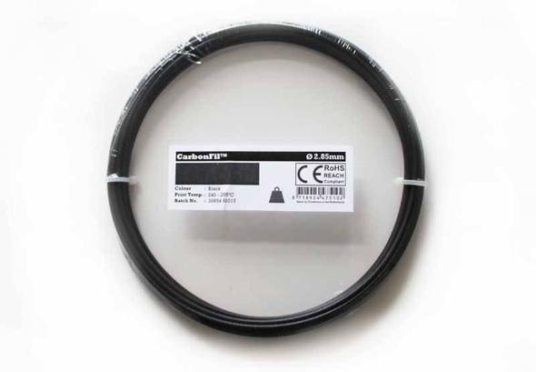 Carbon Fibre PETG Filament CarbonFil 1.75mm Black 50 gram 3D Printer Filament