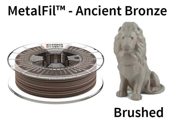 MetalFil 1.75mm Ancient Bronze 750 gram