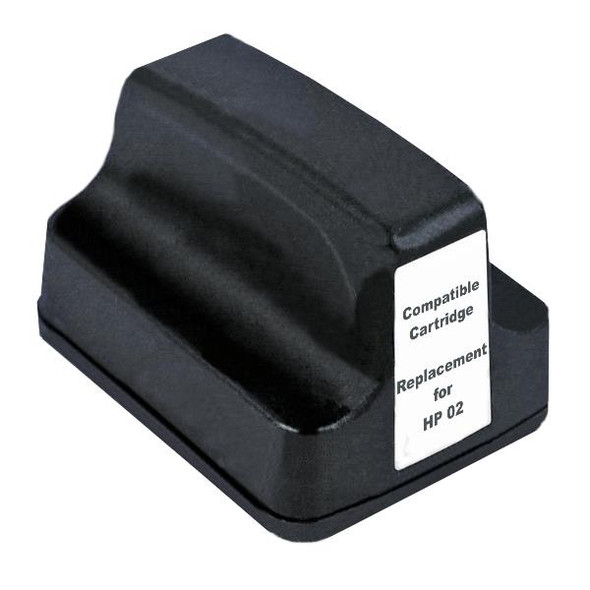 #02 Black High Capacity Remanufactured Inkjet Cartridge