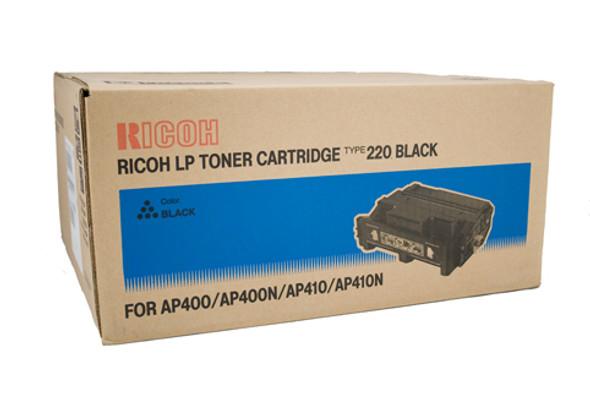 Type 220A SP4100N Genuine Toner Cartridge - Black