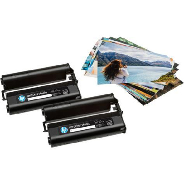 "HP Sprocket 4 x 6"" Photo Paper and Cartridges for Sprocket Studio 4KK83A"