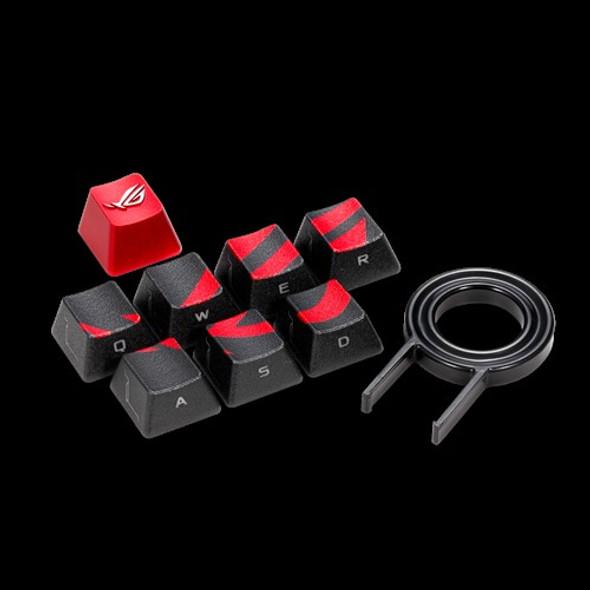 ASUS AC02 ROG GAMING KEYCAP SET Premium Textured Side-Lit Design for FPS/MOBA Keys