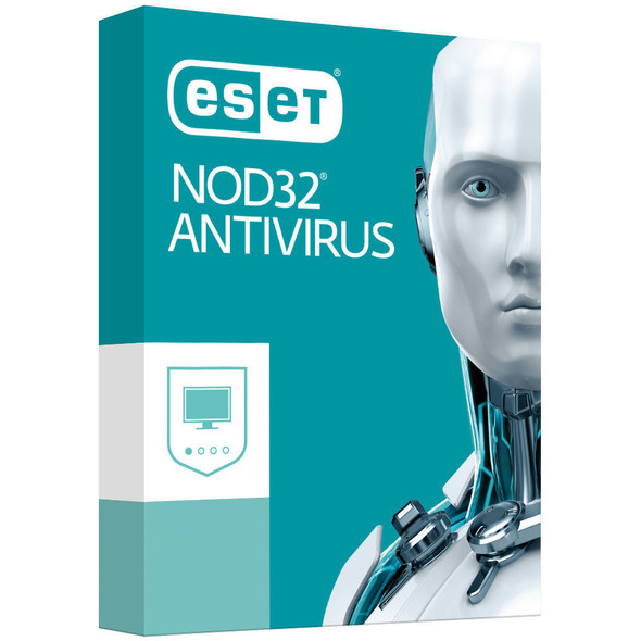 ESET NOD32 Antivirus (Essential Protection) OEM 1 Device 1 Year  - Includes 1x Physical Printed Download Card