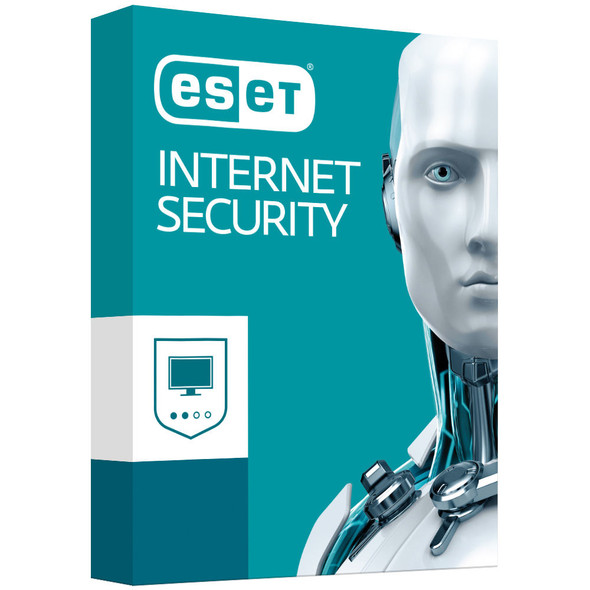 ESET Internet Security (Advanced Protection) 1 Device 2 Years Retail  - Includes 1x Physical Printed Download Card
