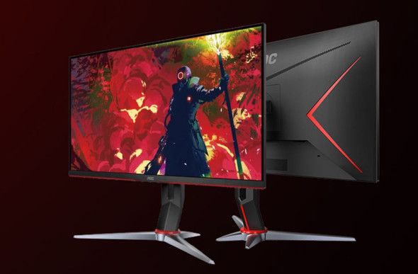 AOC 27' IPS 1ms 144Hz G-Sync, Free-Sync Compatible. Full HD, Game Mode, 1x VGA, 2x HDMI 1.4, 1x DP 1.4, Height Adjustable Stand.