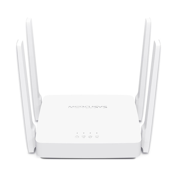 TP-LINK AC10 AC1200 Wireless Dual Band Router, 867 Mbps @ 5GHz 300 Mbps @ 2.5 GHz, WPS Button, 1xWAN 1xLAN 4 Fixed Omni-Directional Antenna