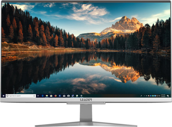 Leader Visionary AIO 2420PRO 23.8' Full HD IPS, Intel I5-1035G4, 8GB, 500GB SSD,Windows 10 Pro, 1 year Onsite Warranty, Keyboard & Mouse, Thin Bezel,