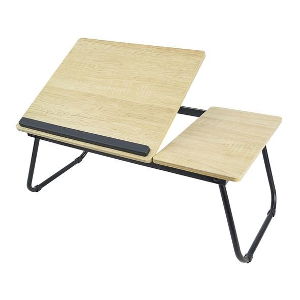 mbeat®  activiva Erogolife Portable Laptop & Reading Table - White Oak Color