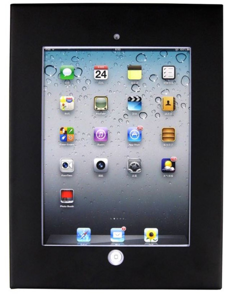 BRATECK Wall Mount Anti-Theft Secure Enclosure for 9.7'  iPad/iPad Air -Black