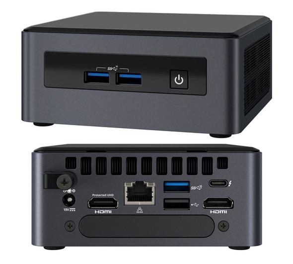 INTEL NUC 8 Pro Kit Mini PC i5-8365U 2xDDR4 SODIMM 2.5' HDD M.2 SSD 24x7 vPRO RAID 3xDisplays 2xHDMI DP1.2 USB-C Thunderbolt 3 4xUSB GBLAN WiFi5 BT5 V